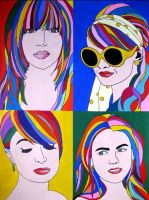 CelebPopArt by L-ooh-see