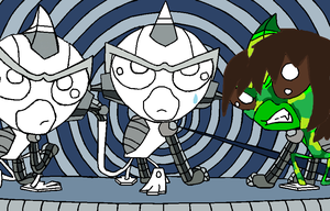 Super robot monkey team hyper force go collab open by Mighty-C-amurai