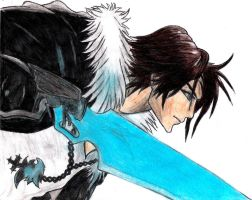 Squall Leonhart old drawing 2 by nothing111111