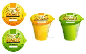 fruit blast cup drink by yosioci