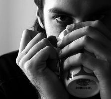 Untitled. Portrait with coffee by Anaris88