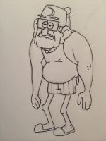 Grunkle Stan by MrFlabCakes
