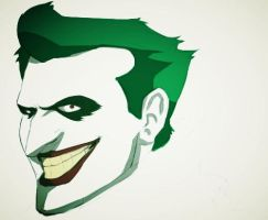 Joker Batman The Animated Series Colors by Animixter