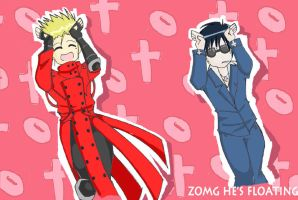 Caramel Trigun by AwesomeShinigami