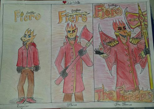 3 stages of Fiero by RandyGamer35