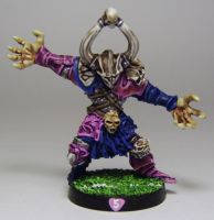 BLOOD BOWL Chaos Warrior 2 by FraterSINISTER