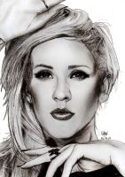Ellie Goulding portrait by Williaaaaaam
