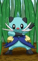 John the Dewott by Amy-the-Jigglypuff