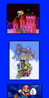 Super Mario Bros. X series (Chronological Order) by Legend-tony980