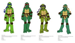 TMNT guys by Lily-pily