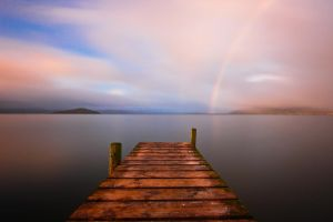 Lake Rotorua Rainbow by MisterDedication