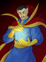 Doctor Strange by clvago