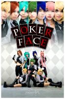Vocaloid Pokerface by MoonArtStudio