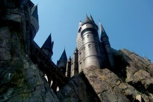 Hogwarts view from below by drsteve5794