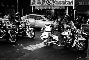 Bikers N.Y.C by SocialArtPhotography