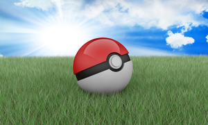3D Pokeball by zer0byt3