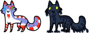 Cat Adoptables-1 Left by Wolfies--Adopts