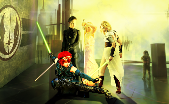 Female Jedi Knights For A New Republic by Jack666Nos