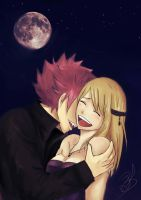 Happy Halloween Nalu ! by Bludy-chu
