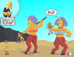 Homer and the Biclopses by Gulliver63