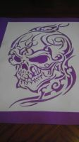 Purple Skull by Sheik2000