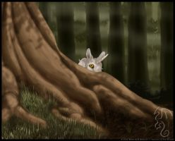 Unicorn in the Woods by rheall