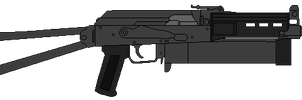 "PP-19 ""Bizon-2"" by DaltTT"