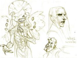 HellBoy II doodles by pietro-ant