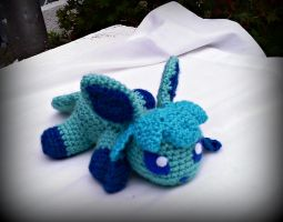 Arctica the Crochet Glaceon Plush by ArtisansShadow