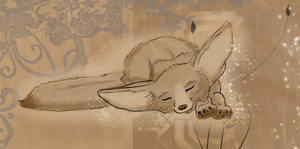 Fennec Dreams by Cadnox