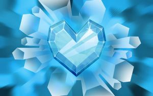 Crystal Heart by cow41087