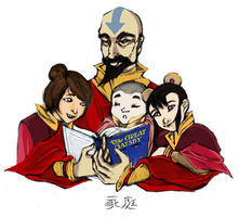Tenzin's Father's Day by Perytiion