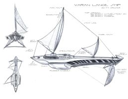 Lance _ Aquatic-Air Ship by A-Nessessary-Studio