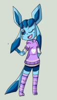 PKMN Crossing: Lizabeth the Glaceon by Eversparks
