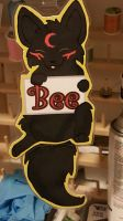 Bee badge by Pure-Escapism