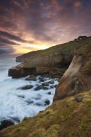 Tunnel Beach II by chrisgin