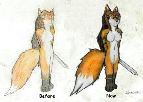 Anima - Before and now by Kiljunator