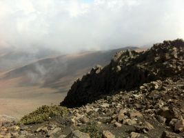 Haleakala Volcano Crater by Flaherty56