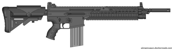 PM-98 Assault Rifle by N147258