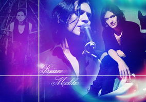 Brian Molko wallpaper by Mina7