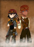 Mokka week: Steampunk by Yentl-Star