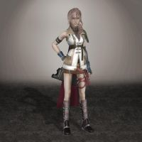 Final Fantasy XIII Lightning by ArmachamCorp
