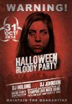 Halloween Blody Party Flyer/Poster by Giunina