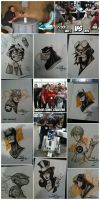Supanova Con sketches HADOKEN by Red-J