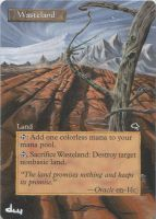 Frameless Wasteland Alter by diemwing