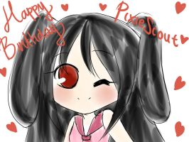 GIFT: HBD Pixiescout by OchaHolique