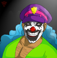 The Rock N Roll Clown.. by Lunore