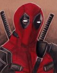 Deadpool portrait by Cpr-Covet