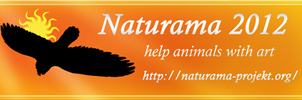 Naturama banner bird of prey by Mutabi
