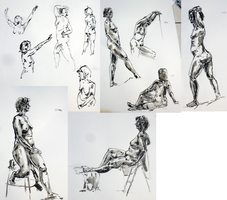 Extra Life Drawing Session by Alerane